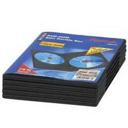 Коробка 2xDVD Hama Slim black (5шт) (H-51073) - фото 1