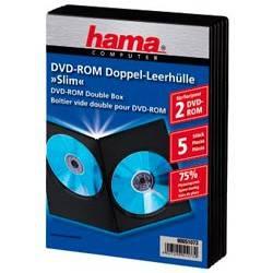 Коробка 2xDVD Hama Slim black (5шт) (H-51073) - фото 2