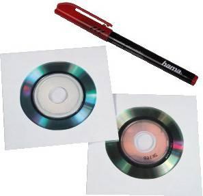 Конверт Hama на 1CD / DVD H-51078 прозрачный