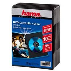 Коробка Hama на 1CD/DVD H-51181 черный (в упаковке:10шт) (00051181) - фото 2