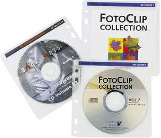 Конверт Hama на 2CD/DVD H-62611 белый (в упаковке:100шт) (00062611)