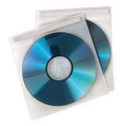 Конверт Hama на 2CD / DVD H-78323 белый (упак.:50шт)