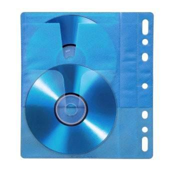 Конверты Blu-ray Hama blue двойные полипропилен (10шт) (H-83904) - фото 2