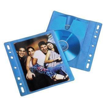 Конверты Blu-ray Hama blue двойные полипропилен (10шт) (H-83904) - фото 3