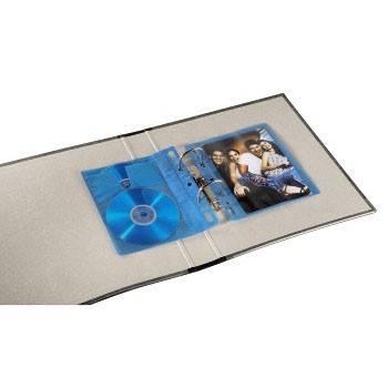 Конверты Blu-ray Hama blue двойные полипропилен (10шт) (H-83904) - фото 4
