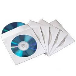 Конверт Hama на 2CD / DVD H-83985 белый (упак.:50шт)