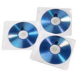 Конверт Hama на 2CD / DVD H-84101 белый (упак.:50шт)
