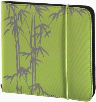 Портмоне Hama на 24CD/DVD Up to Fashion H-95668 зеленый (в упаковке:1шт) (00095668)