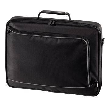 """Сумка для ноутбука 17.3"""" Hama Bordeaux черный/серый (00101755)"""
