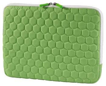 """Чехол для ноутбука 10.2"""" Hama Hexagon зеленый - фото 1"""