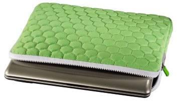 """Чехол для ноутбука 10.2"""" Hama Hexagon зеленый - фото 2"""