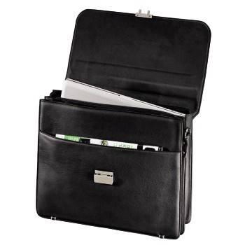 """Портфель для ноутбука 17.3"""" Hama Business черный - фото 2"""