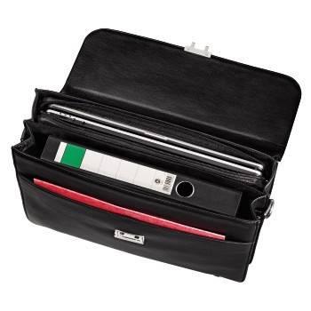 """Портфель для ноутбука 17.3"""" Hama Business черный - фото 4"""