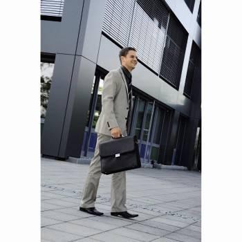 """Портфель для ноутбука 17.3"""" Hama Business черный - фото 10"""