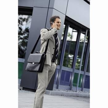 """Портфель для ноутбука 17.3"""" Hama Business черный - фото 11"""