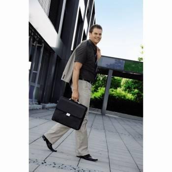 """Портфель для ноутбука 17.3"""" Hama Business черный - фото 12"""