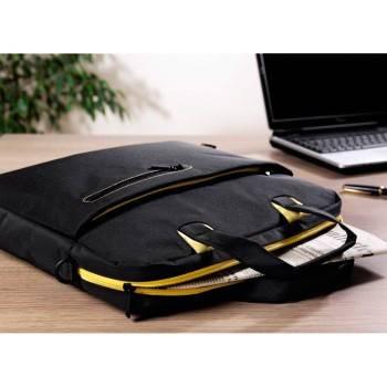 """Сумка для ноутбука 15.6"""" Aha San Francisco черный/желтый - фото 4"""