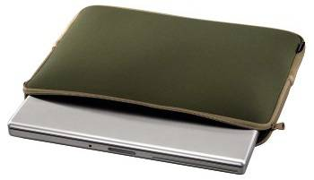 """Чехол для ноутбука 11.6"""" Hama H-101958 зеленый/коричневый - фото 2"""