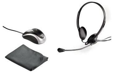 """Сумка для ноутбука 17.3"""" Hama Starter-Kit черный - фото 2"""