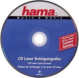 Чистящий диск Hama H-44721 CD - фото 1