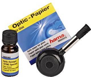 Чистящий набор (салфетки + жидкость + кисточка с грушей) Hama H-5932 (00005932)