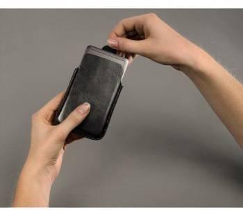 Чехол для плеера Hama DelicateSleeve black для iPod Classic 120/160Gb кожа (H-91222) - фото 3