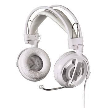Наушники с микрофоном Hama H-113713 белый - фото 1