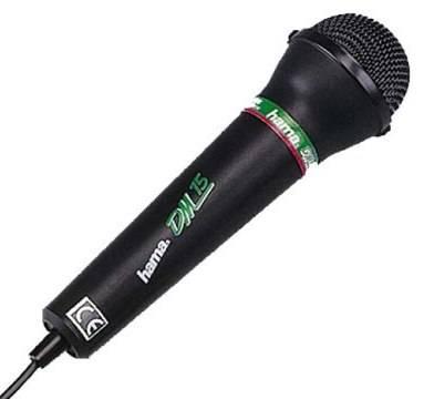 Микрофон Hama DM15 черный - фото 1