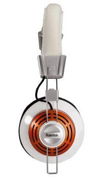 Наушники с микрофоном Hama HS320 (51619) белый - фото 3
