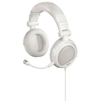 Наушники  с микрофоном Hama White Voice оголовье/складные (H-51671) - фото 1