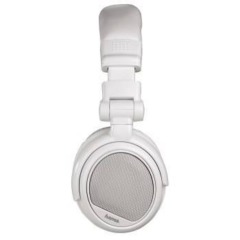 Наушники  с микрофоном Hama White Voice оголовье/складные (H-51671) - фото 3