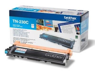 Картридж Brother TN230C голубой - фото 1