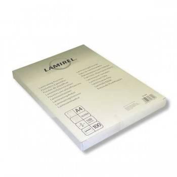 Пленка для ламинирования Fellowes Lamirel A4 100мкм (100шт) (LA-78658)