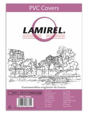 Обложки для переплёта Fellowes A4 прозрачный (100шт) Lamirel
