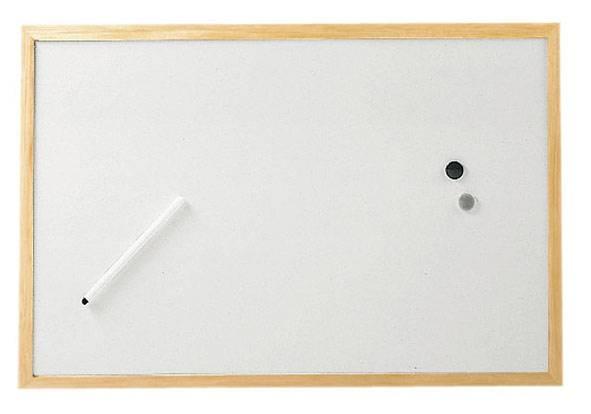 Доска магнитно-маркерная Hebel Maul Weiss (2534002) - фото 1