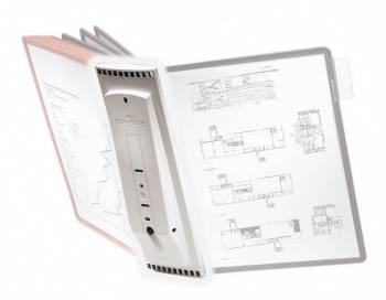 Дисплейная система Durable Sherpa 562110 настенная 10пан. без панелей
