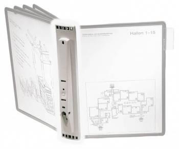 Дисплейная система Durable Sherpa 562210 настенная 5пан. без панелей