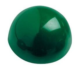Магнит для досок Hebel Maul 6166055 зеленый d=30мм сферический - фото 1