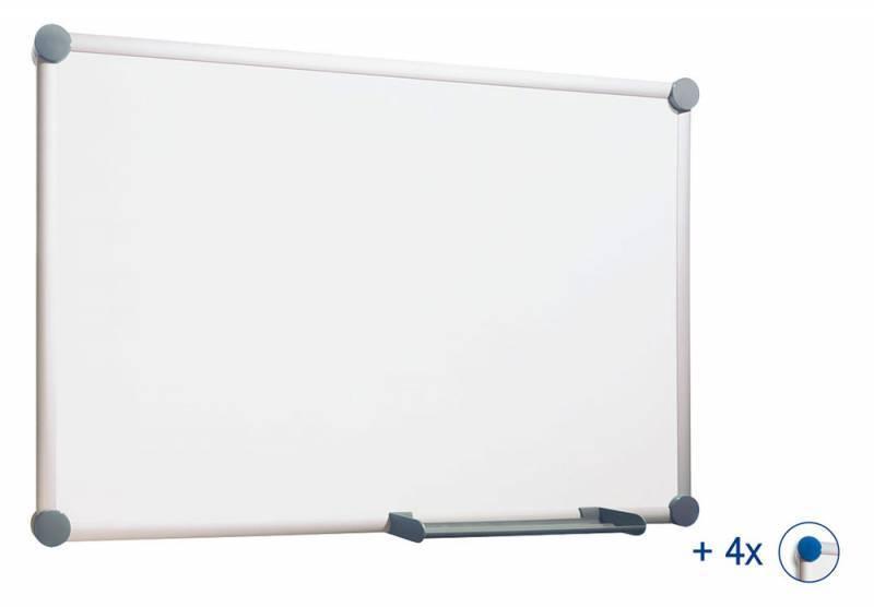 Демонстрационная доска Hebel Maul Whiteboard 2000 6304084 серый - фото 1