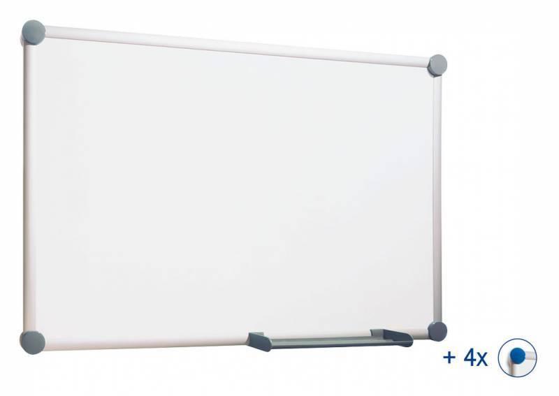 Демонстрационная доска Hebel Maul Whiteboard 2000 6304684 серый - фото 1