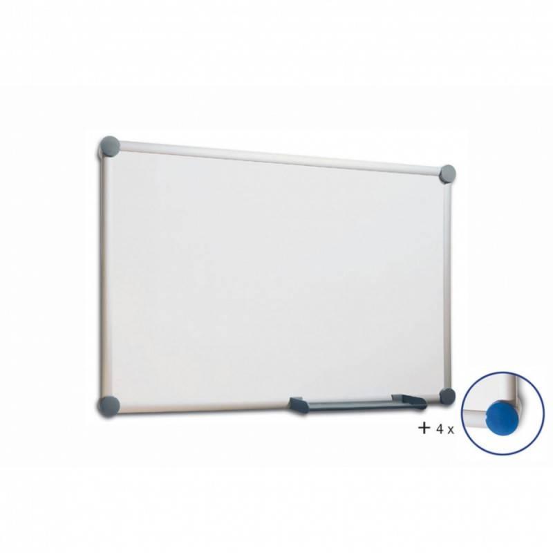 Демонстрационная доска Hebel Maul Whiteboard 2000 (6305584), 120x300 см алюминий серебристый - фото 1
