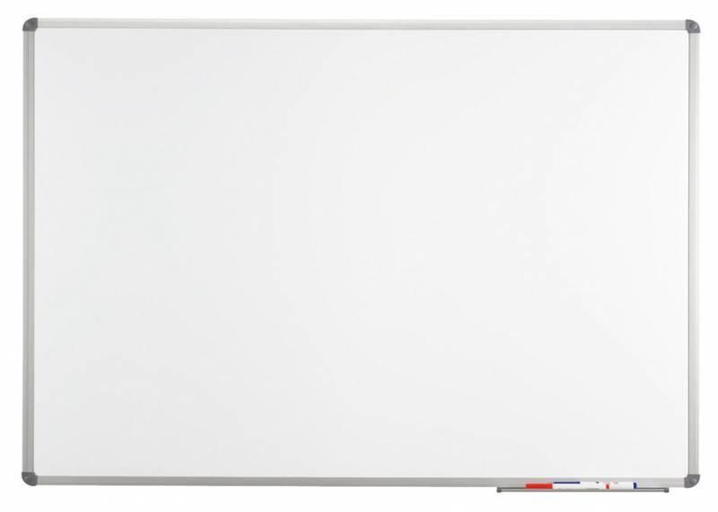 Демонстрационная доска Hebel Maul Standard 6452284 магнитно-маркерная лак 90x120см алюминиевая рама серый - фото 1