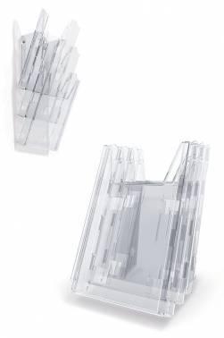 Комплект лотков Durable Combiboxx 1 / 3 859919 пластик A4 прозрачный