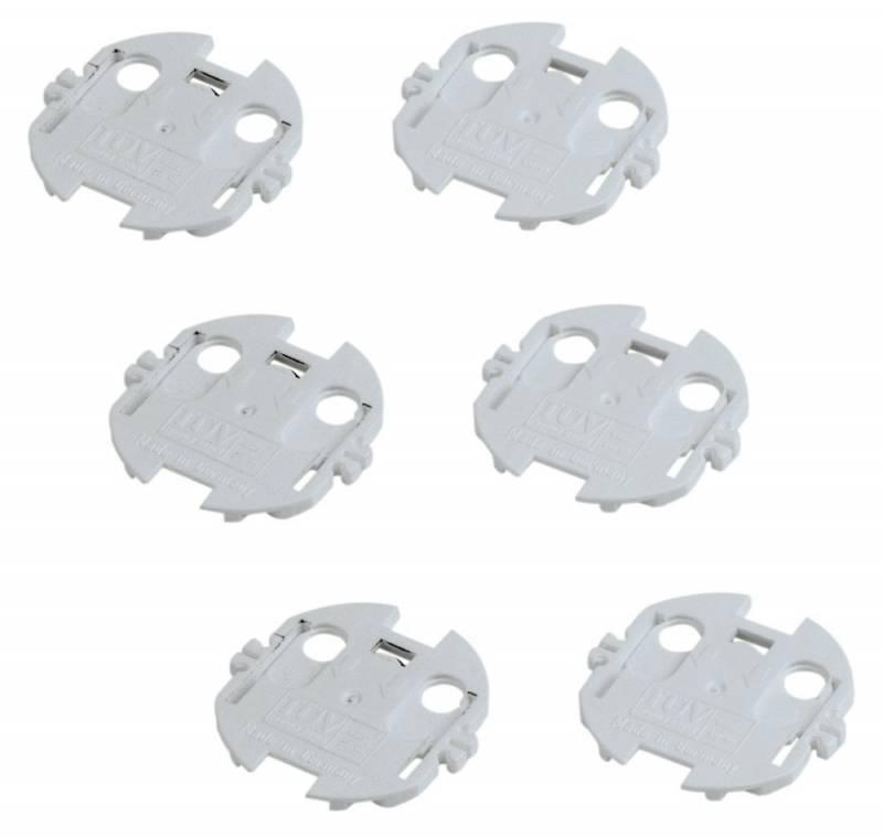 Заглушки для розеток Hama H-47645 белый - фото 1