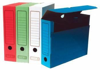 Короб архивный Бюрократ KKA-75 ассорти