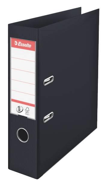 Папка-регистратор Esselte №1 Power 811370P пластик черный - фото 1