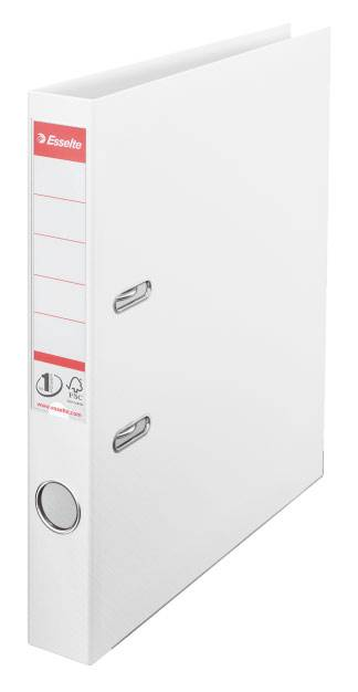 Папка-регистратор Esselte №1 Power 811400P пластик белый - фото 1