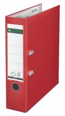 Папка-регистратор Esselte Leitz 10101225P пластик красный