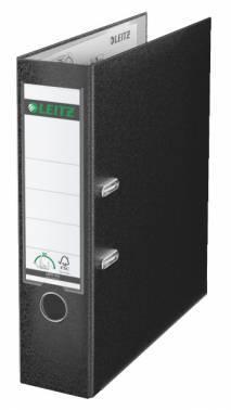 Папка-регистратор Esselte Leitz 10101295P пластик черный