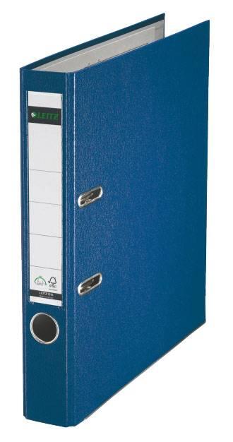 Папка-регистратор Esselte Leitz 10151235P пластик синий - фото 1